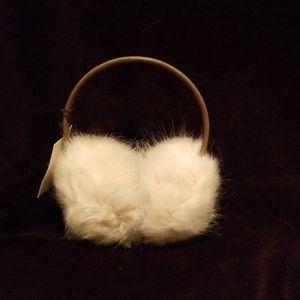 Restoration Hardware Faux Fur Ear Muffs